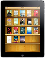 Apple iPad with iBooks App