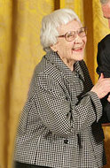 Harper Lee received the Presidential Medal of Freedom on Nov. 5, 2007.