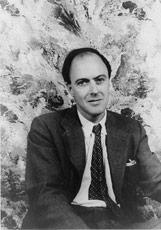 Portrait of Roald Dahl,1954. By Carl Van Vechten.